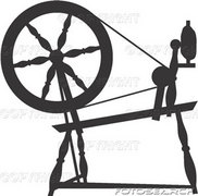 Spindle clipart.