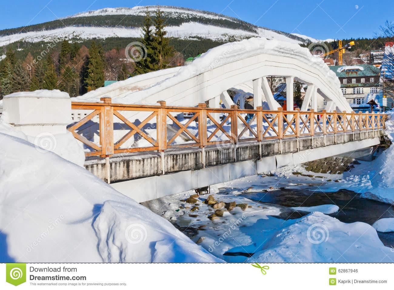 Ski Resort Spindleruv Mlyn, Krkonose (Giant) Mountains, Czech.