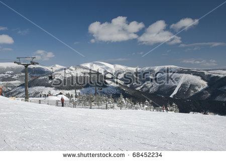 Ski Resort Spindleruv Mlyn, Medvedin.