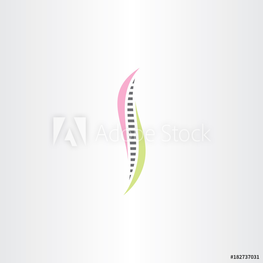 Photo & Art Print spine logo symbol vector sign element.