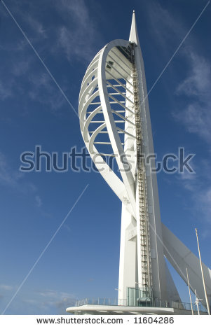 Spinnaker Tower Stock Photos, Royalty.