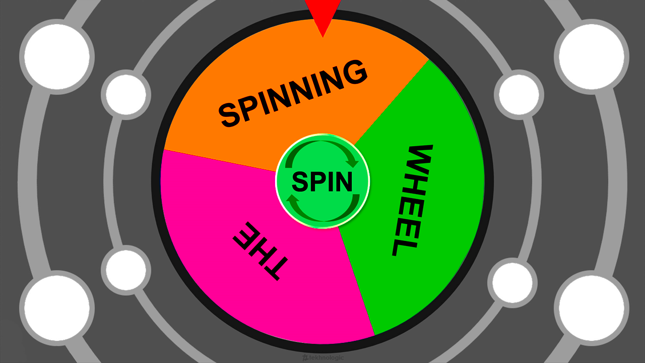 The Spinning Wheel 2018.