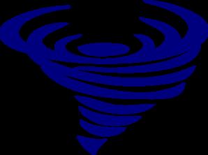 Blue Spinning Whirlwind Clip Art at Clker.com.