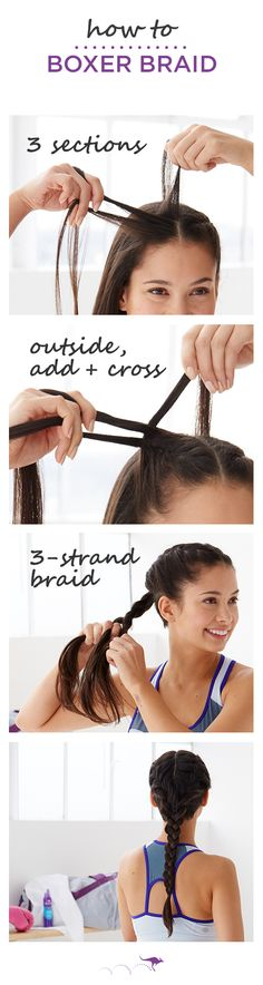 If you're looking for a sleek and simple way to pull your hair.
