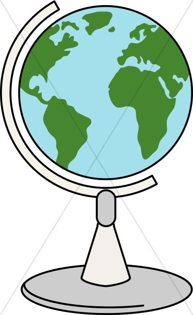 Spinning Globe.