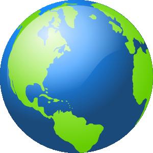 Animated Globe Gif.