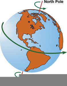 Animated Spinning Globe Clipart.