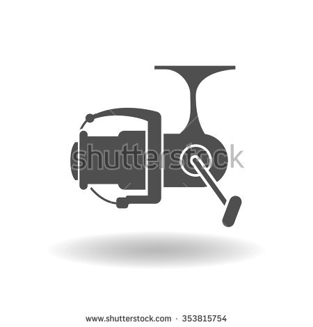 Fishing Reel Isolated Stock Photos, Royalty.