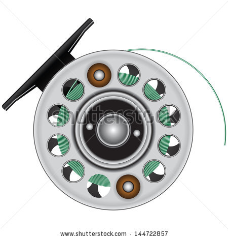 Fishing Reel Stock Photos, Royalty.