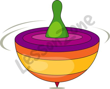 Clipart spinning top.