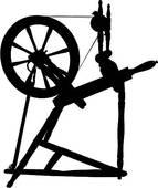 Spinning wheel Clip Art Vector Graphics. 584 spinning wheel EPS.