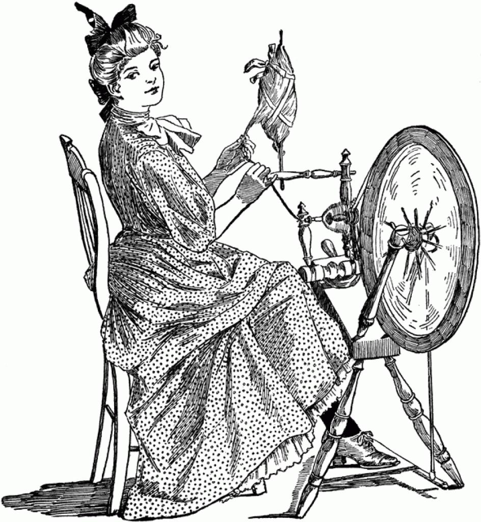 spinning wheel clipart etc Illustrations clipart spinning wheel.
