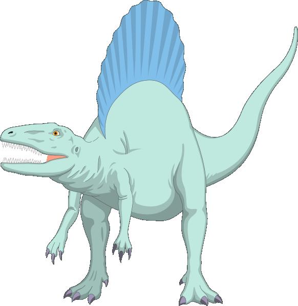 HD Spinosaurus Clipart Transparent.