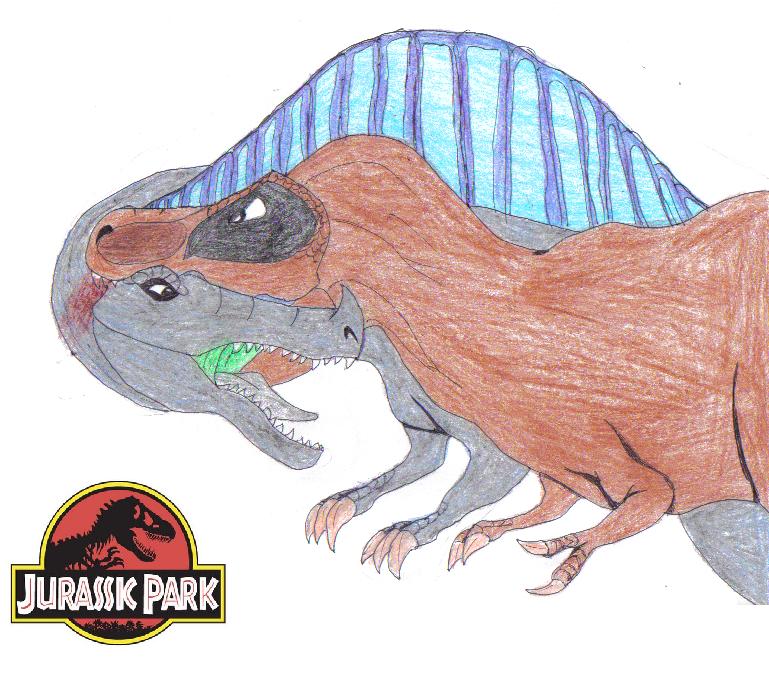 Tyrannosaurus VS Spinosaurus by TyrannosaurusKing on DeviantArt.