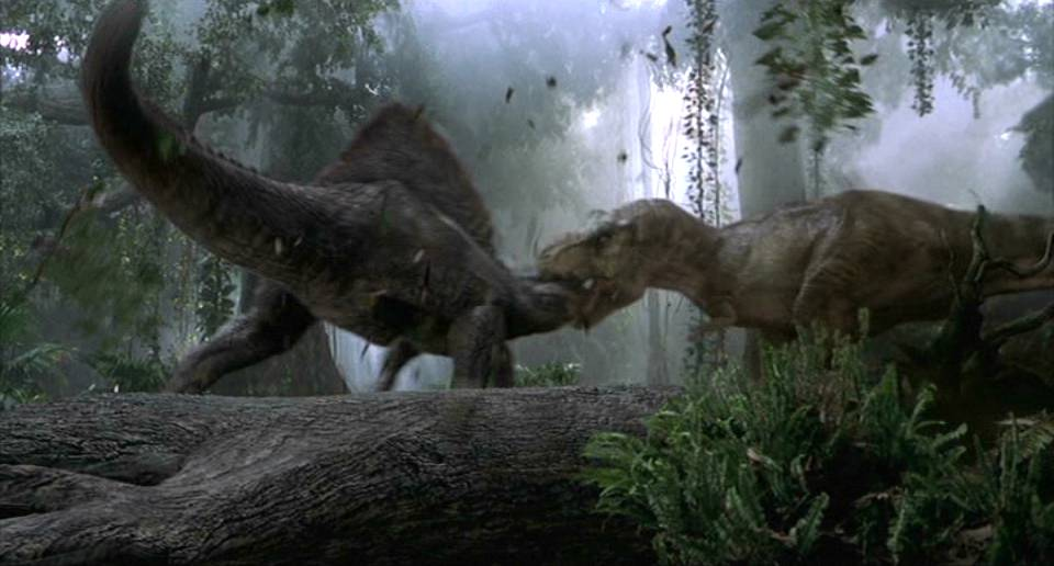 PDBS2F10 (Finale): Tyrannosaurus rex vs Spinosaurus.