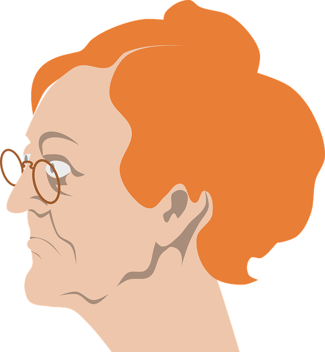 Free vector graphic: Spinster, Grandmother, Grandma.