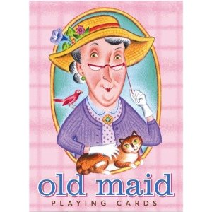 Free clipart images of old maid card game.