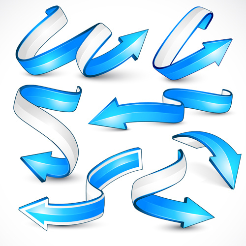 3d spiral arrow free vector download (5,468 Free vector) for.