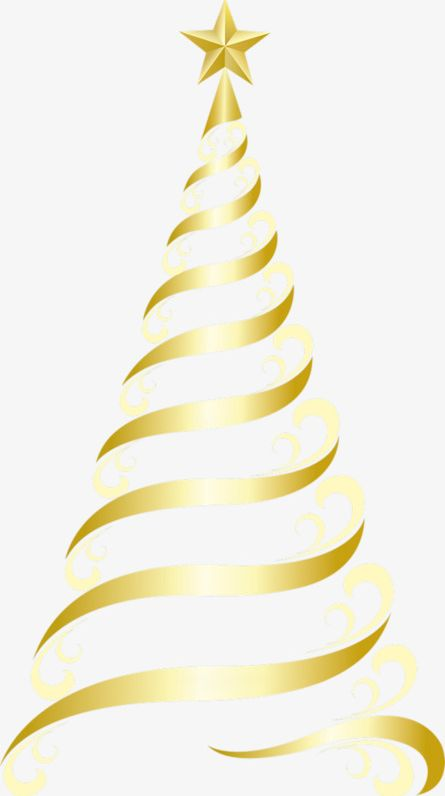 Golden Christmas Tree PNG, Clipart, Christmas, Christmas.