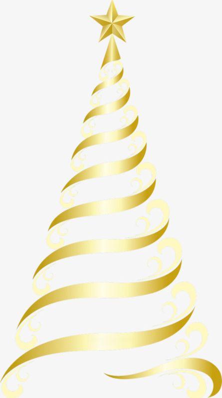 Golden Christmas Tree PNG, Clipart, Christmas, Christmas.