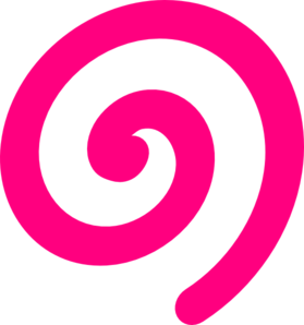 Spiral Clip Art.