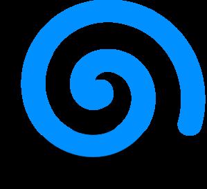 Turquoise Spiral Clip Art at Clker.com.