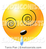 Royalty Free Stock Emoticon Designs of Smiley Symbols.
