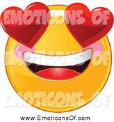Royalty Free Stock Emoticon Designs of Smileys.
