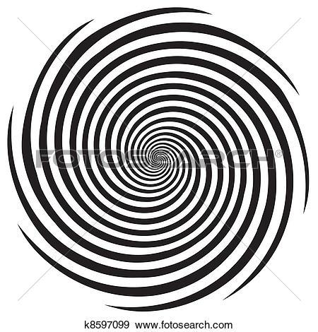 Clipart of Spiral Arrow k11337195.