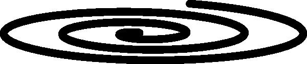 Spiral Clip Art at Clker.com.