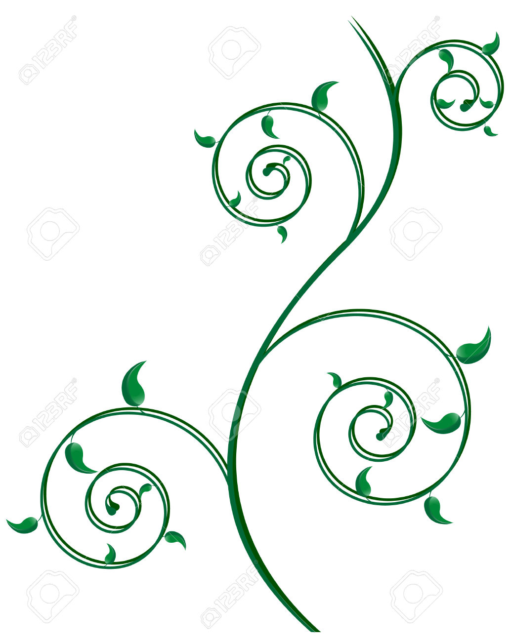 Abstract Spiral Background; Clip.
