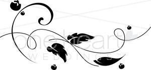 Leaf Spiral Clipart.