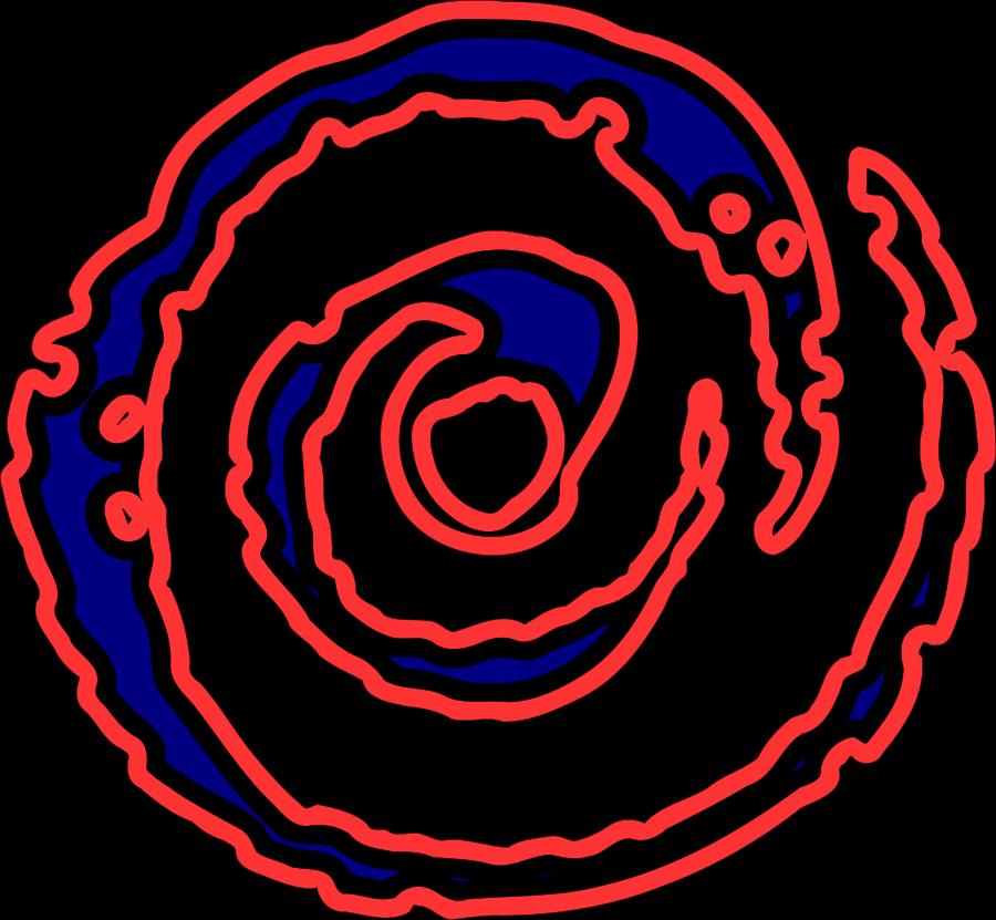 Spiral Galaxy Clipart.
