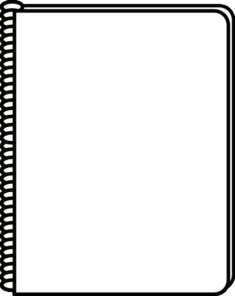 Spiral Notebook Paper Clipart.