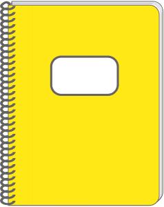 Best Notebook Clipart #18940.