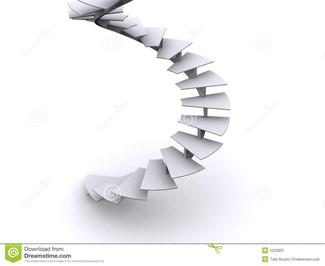 Spiral Stairs Clipart.