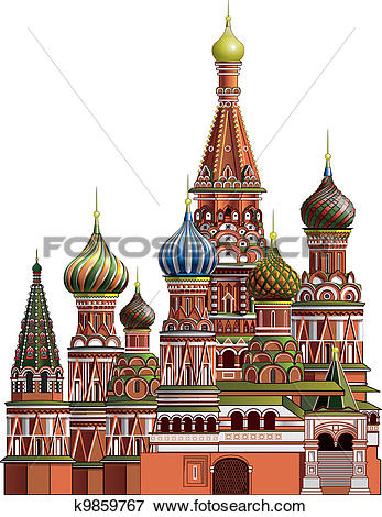 Stock Illustration of St. Basil's Cathedral k9859767.