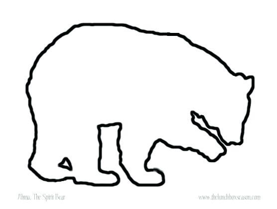 Spirit Bear Drawing.