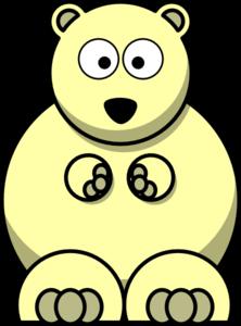 Yellow Bear Clip Art at Clker.com.