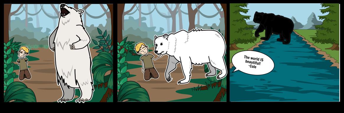 Touching Spirit Bear Storyboard by carlyear.