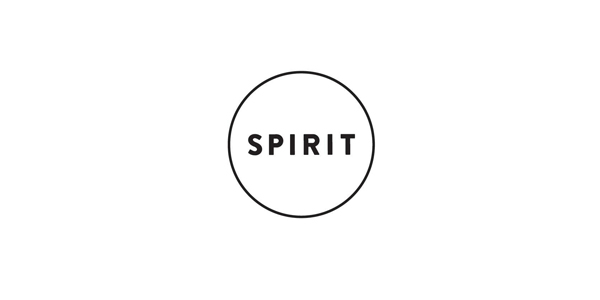 New Logo and Brand Identity for Spirit by Studio Beige.