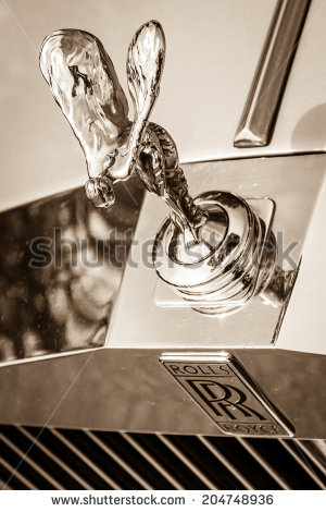Spirit of ecstasy clipart.