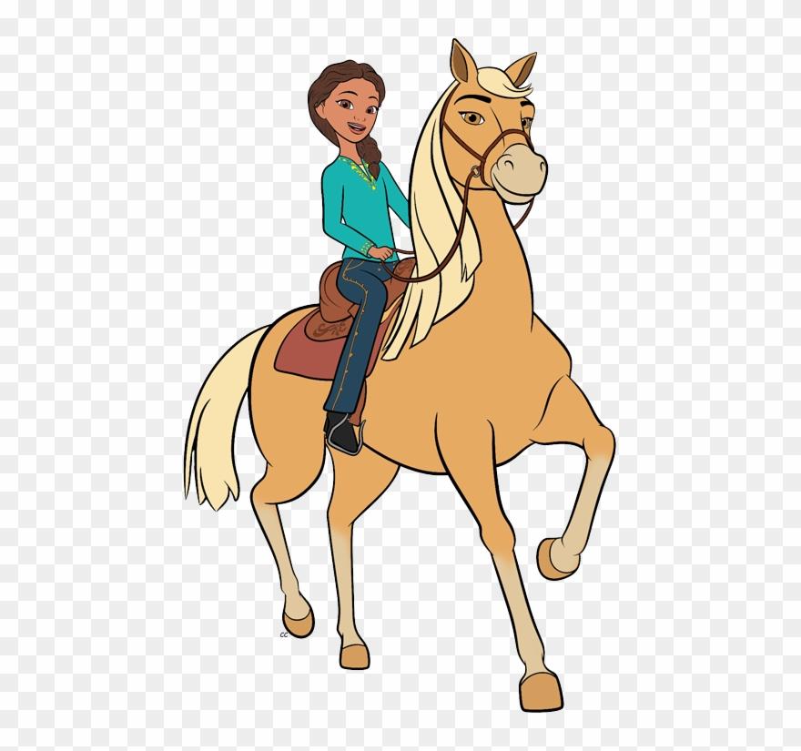 Spirit Riding Free Clip Art Cartoon Clip Art.