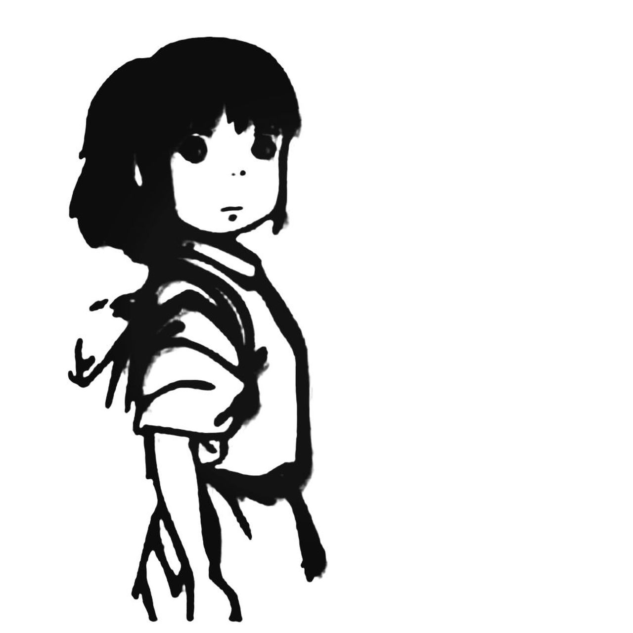 Spirited Away Chihiro Logo Decal Sticker.