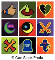 Spiritism Clipart Vector Graphics. 25 Spiritism EPS clip art.