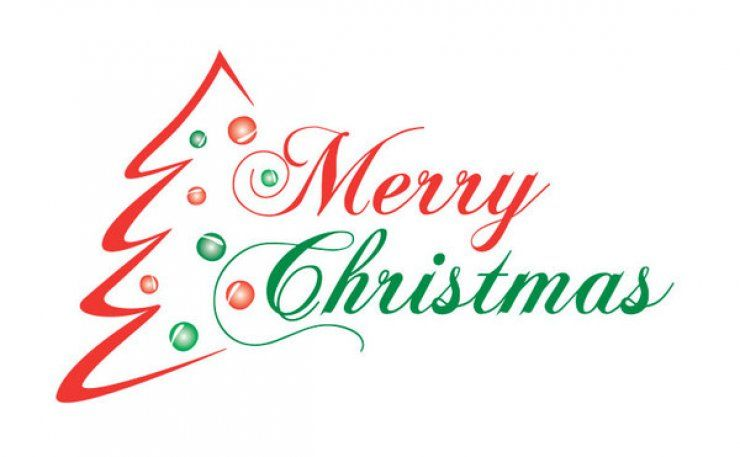 Religious Merry Christmas Clipart Images.