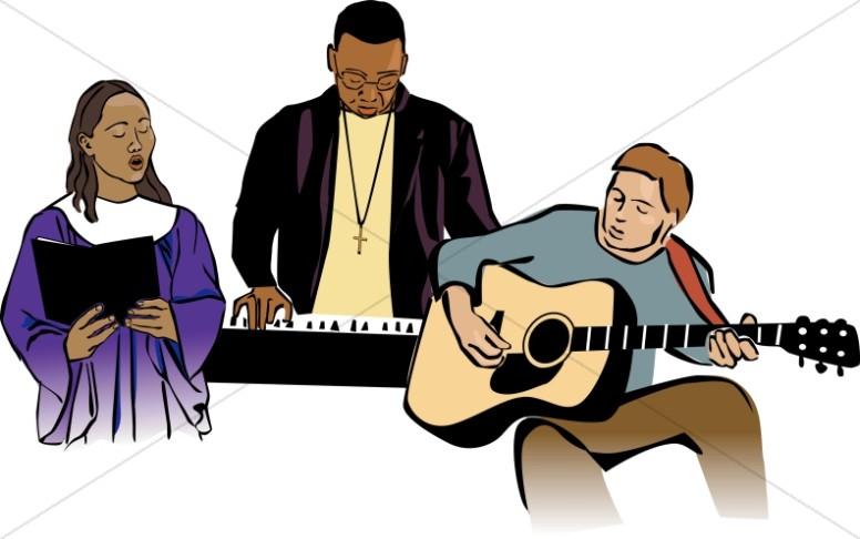 Worship Clipart, Praise and Worship Clipart, Worship Images.
