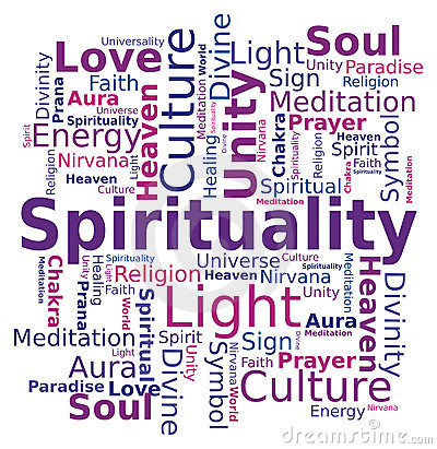 Spirituality Stock Illustrations.