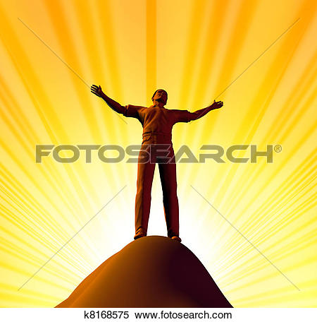 Stock Illustration of Belief and spirituality k8168575.