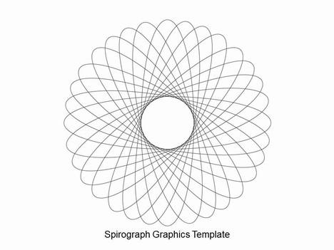 Spirograph PowerPoint Template.